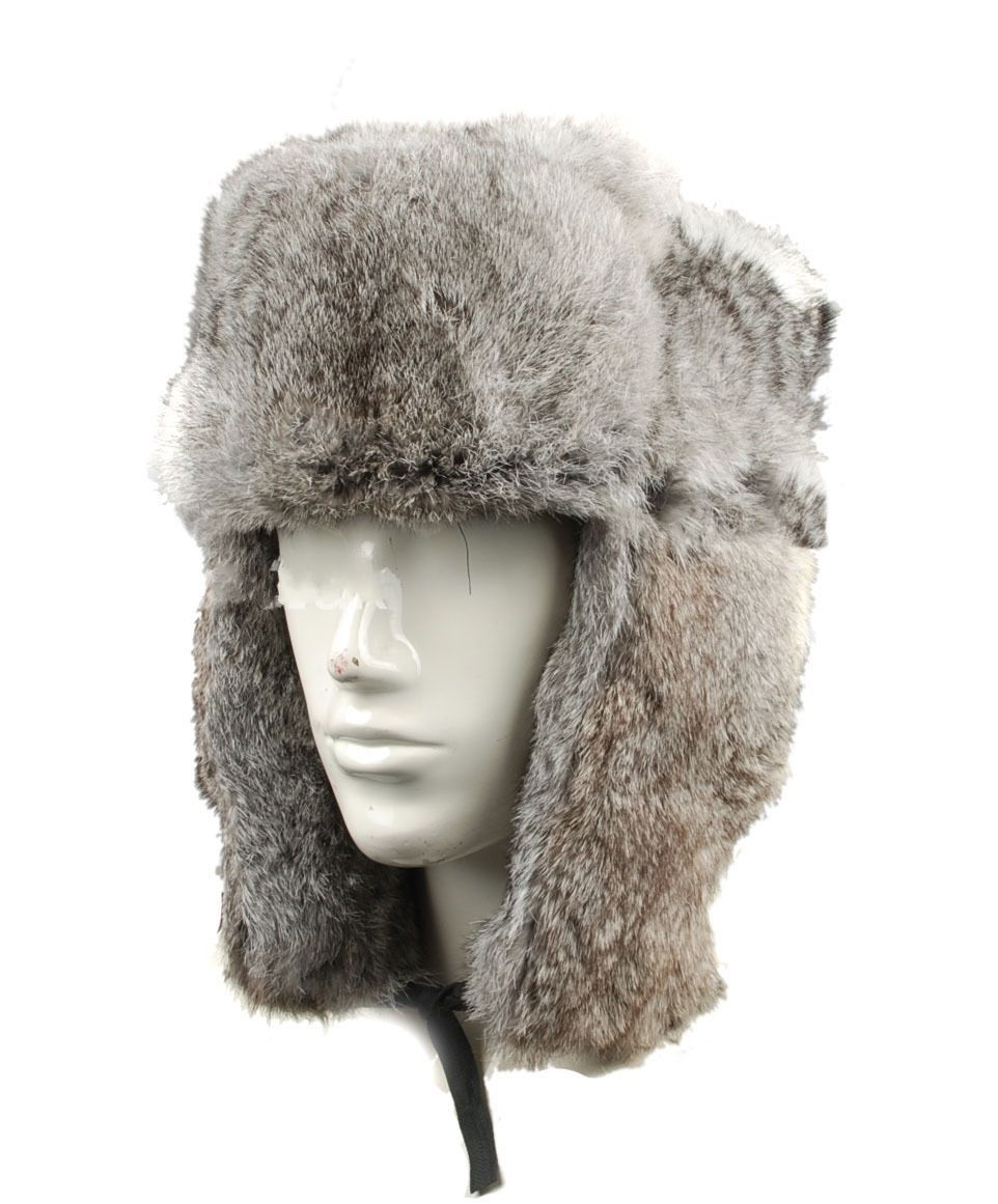 WWII German Military Luftwaffe M42 M1942 Rabbit Fur Cap Hat  IN SIZES - World military Store