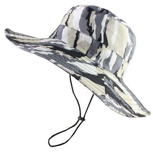 6dd5de02b34 Waterproof Tactical Airsoft Sniper Camouflage Boonie Hats Foldable Nepalese  Cap Militares Army Mens Bucket Hat Military