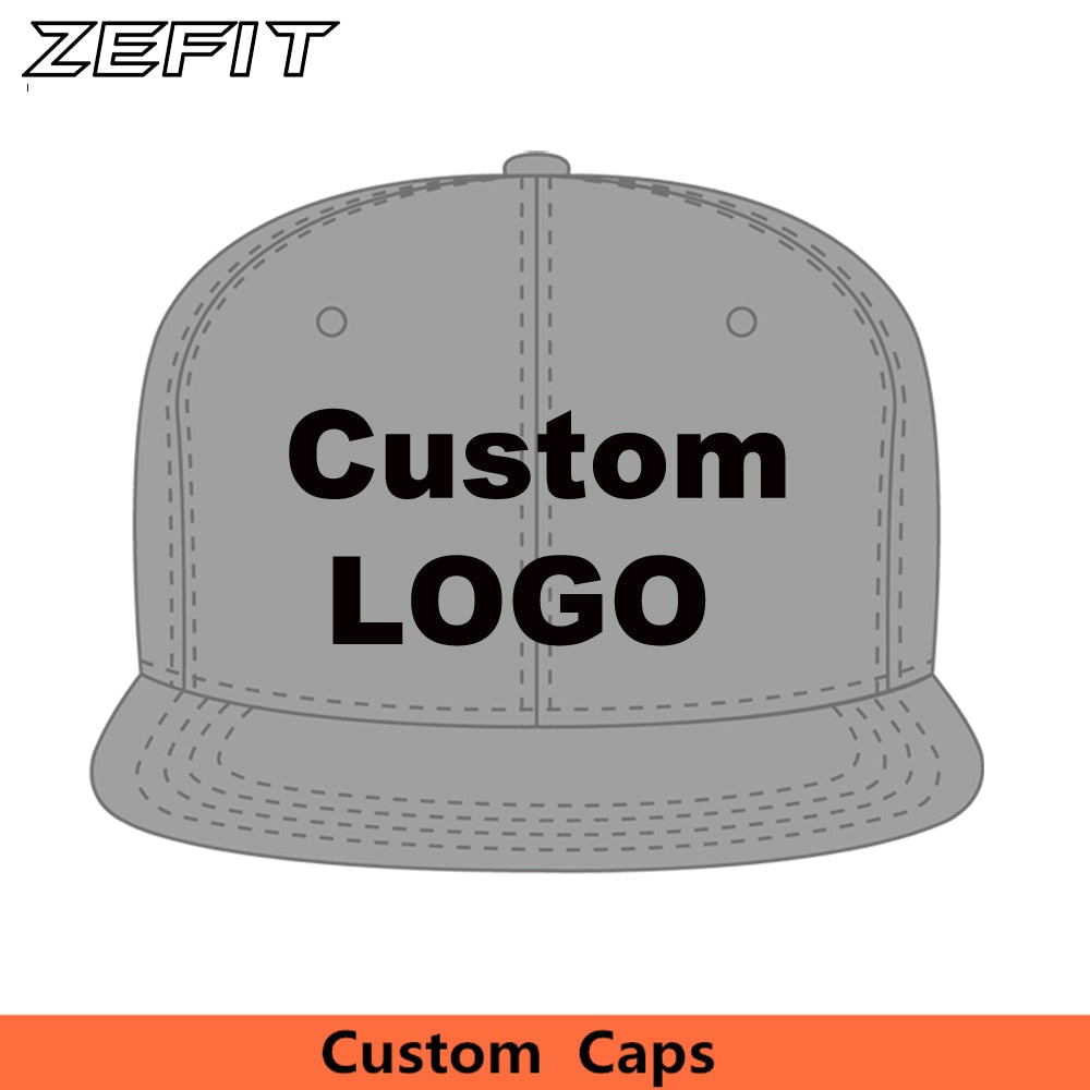 Wholesale Baseball caps Design Snapback Embroidery Print Your Logo Small order hip-hop Dancers T Hats