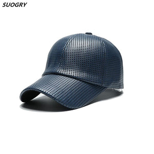f64782f1618849 Wholesale Hot PU Black Baseball Cap Women Fall Leather Cap Trucker Cap  Fitted Snapback Hats For Men Winter Hat For Women