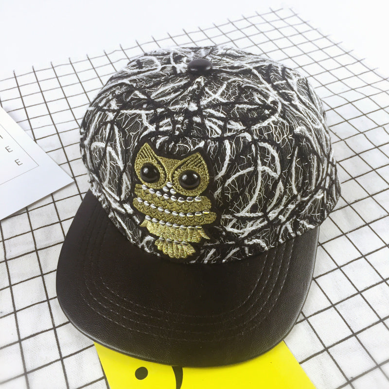 Wholesale Kids Fashion Unisex Classic Trucker Owl Baseball Cap Snapback Hat  Vintage Baby Boys Girls Hip Hop Hat e673751e703