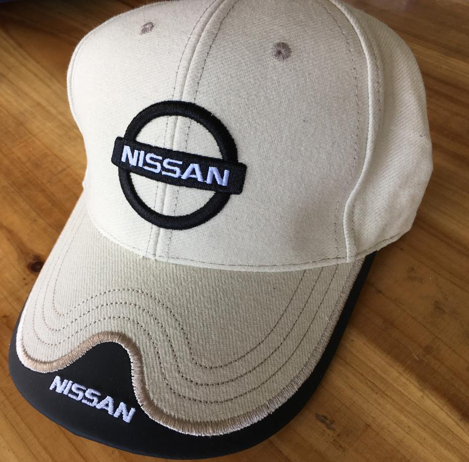 Wholesale black red beige dark blue Nissan Baseball Cap man Hat Cap truck Caps Adjustable