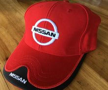 Load image into Gallery viewer, Wholesale black red beige dark blue Nissan Baseball Cap man Hat Cap truck Caps Adjustable