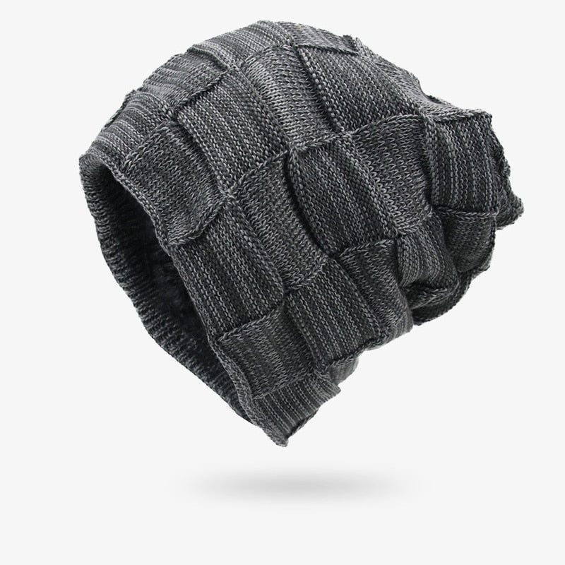 Winter Men Hats Knitted Keep Warm Thick Soft Beanies Hats Winter ... af62ed4fa