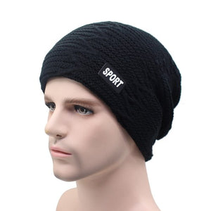 a5fea072fa5 Winter Skullies Beanies Knit Hat Winter Hats For Men Women Brand Beanie Men  Warm Baggy Caps