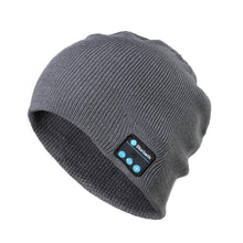 Load image into Gallery viewer, Wireless Bluetooth Music Hat Universal Smart Caps Winter Warm Beanies Knitted Hats With Speaker Mic blue tooth caps Cheap Price