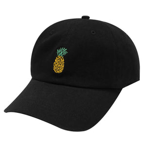 Women Baseball Cap Snapback 3D Pineapple Pattern Printed Hat Unisex Hip Hop Style Spring Hats For Girls Casquette Homme