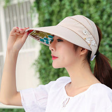 Load image into Gallery viewer, Women Bucket Hat - Summer Fishing Fisher Beach Festival Sun Cap Protection Polyester Casual Adult Lady Sun Hats