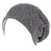 Load image into Gallery viewer, Women Men Skullies Double Layer Knitted Cap Bonnet New Winter Beanies Beautiful stylish Turban Hat