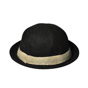 Women Men Straw Bowler Sun Hat Summer Fashion Beach Jazz Hats Linen Floppy Bucket Brim Cap Chapeau De Paille Femme Sombreros