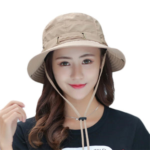 d257b4d1834 Women Men Summer Sun Hats Men Fisherman Hat Unisex Sunscreen Beach Caps  Bucket Hats Wide Large