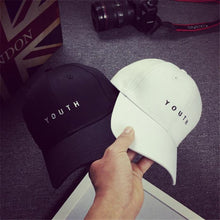 Load image into Gallery viewer, Women's Baseball Cap New Fashion 2020 Panama Embroidery Cotton Baseball Cap youth Boys Girls Snapback Hip Hop Flat Hat Men