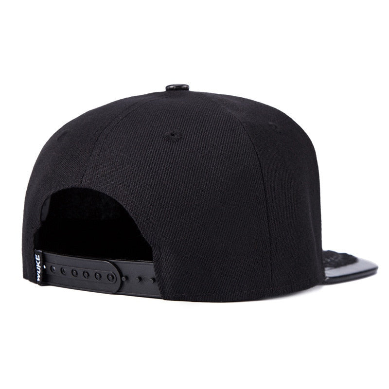 New Baseball Caps Hip Hop Snapbacks Wheat Bones Black Mens Full Plain Hat