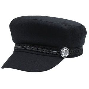 Winter Hats For Women Men Octagonal Cap Wo But Baseball Caps Visor Hat Caps Casquette Black Casual Berets