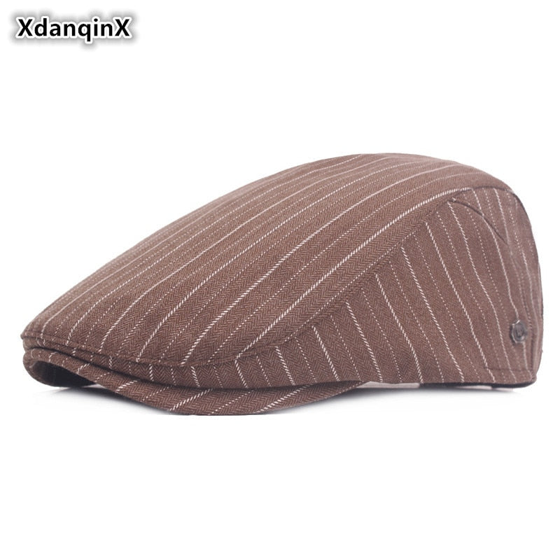 Unisex Hats 2020 Spring And Summer New Style Fashion Cot Berets Adjustable Head Size Small Fresh Visor Caps For Men