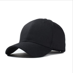 Durable 2020 New Masculino Snapback Casquette Gorras  Blank Curved Solid Color Adjustable Baseball Cap Bone dad Caps