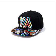Load image into Gallery viewer, Unique personality color graffiti Snapback Caps Flat Hip Hop Cap Baseball Hats For Men and woman bone Casquette dad caps