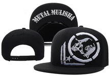 Load image into Gallery viewer, 2017 New Fashion Metal Mulisha Adjustable Baseball Hat Hip Hop Snapback Cap For Men Women caps