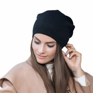 2018 New arrival popular hats women's beanies hats for Spring and Autumn knitted with wo fashional caps gorros H70A