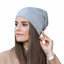 Load image into Gallery viewer, 2018 New arrival popular hats women's beanies hats for Spring and Autumn knitted with wo fashional caps gorros H70A