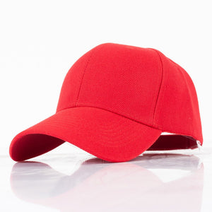 Black Blank Baseball Cap for Men Women Plain Bones Masculino Casquette Homme Gorras Mujer Red Army Green Basic Hat YIC615