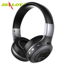 Load image into Gallery viewer, B19 Headphone LCD Display HiFi Bass Stereo Earphone Bluetooth Wireless Headset With Mic FM Radio TF Card Slot Headphones