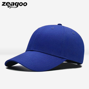 5 Colors Hip-Hop Adjustable Sun Plain Visor Baseball Cap For Women Men Unisex Casual Street Shopping Polyester Hat