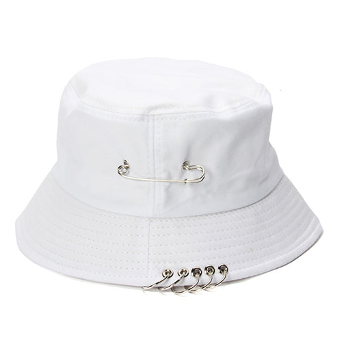 1c3737beaa2 black white summer Bucket Hat for women men adult folding Fisherman ...