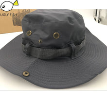 Load image into Gallery viewer, bucket hat sun hats for men hat cap fisherman military hats  cappello pescatore mens