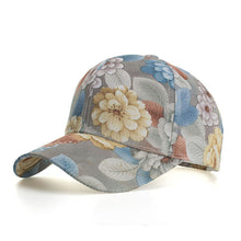Load image into Gallery viewer, cute Sun Hat hip hop Hats Women Baseball Hat Adjustable Caps Flora Print Fashion streetwear casquette homme touca