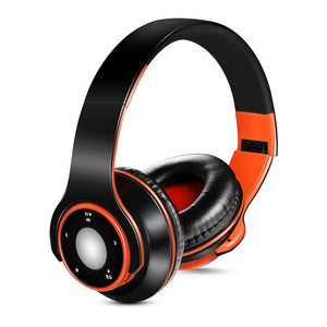 SG-8 Wireless Stereo Music Headset Bluetooth 4.0 Headphones Over-ear 3.5mm Wired Earphone Support TF Card FM Radio MIC