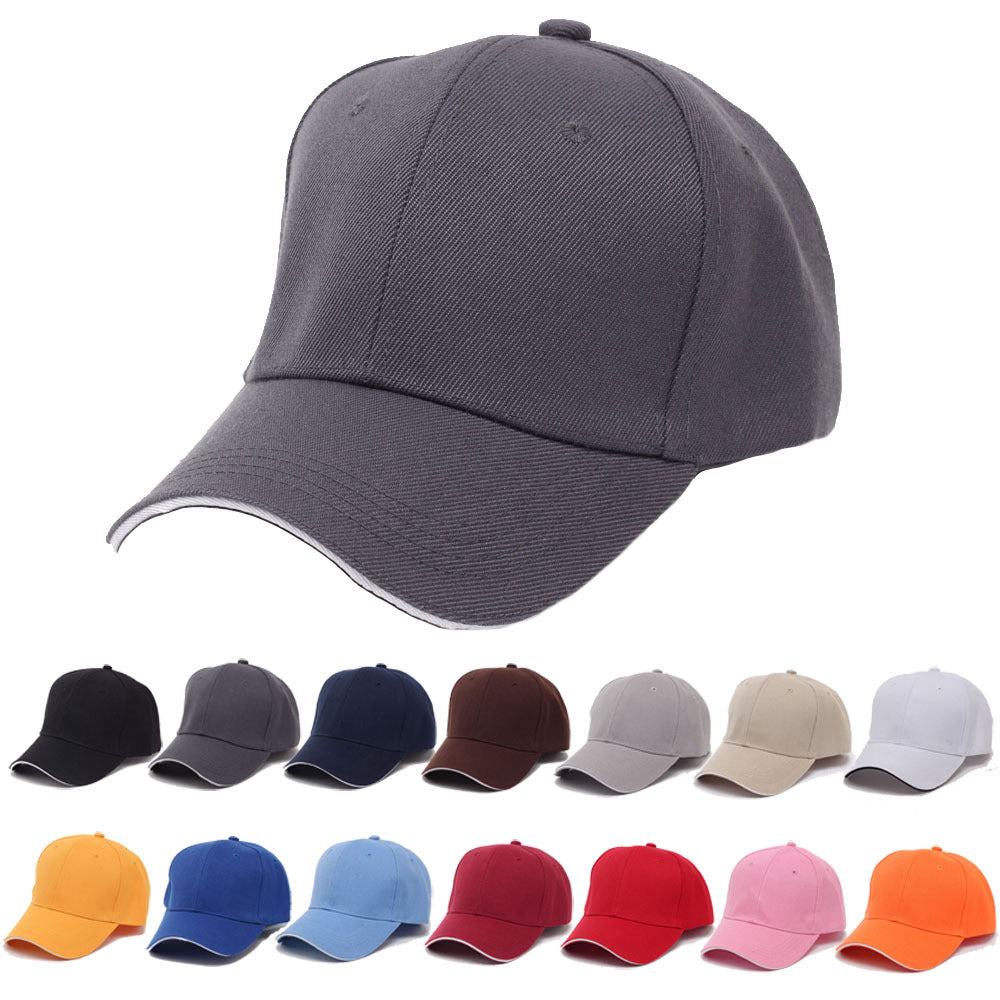 d88fb8313 fashion casual candy colors baseball cap drake hat for women men female  boys youth summer sport Solid baseball golf cap hat new
