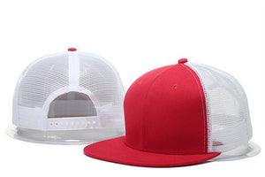 flat brim summer mesh baseball cap hip hop women men blank snapback hat bone plain mamo hat women fitted gorras