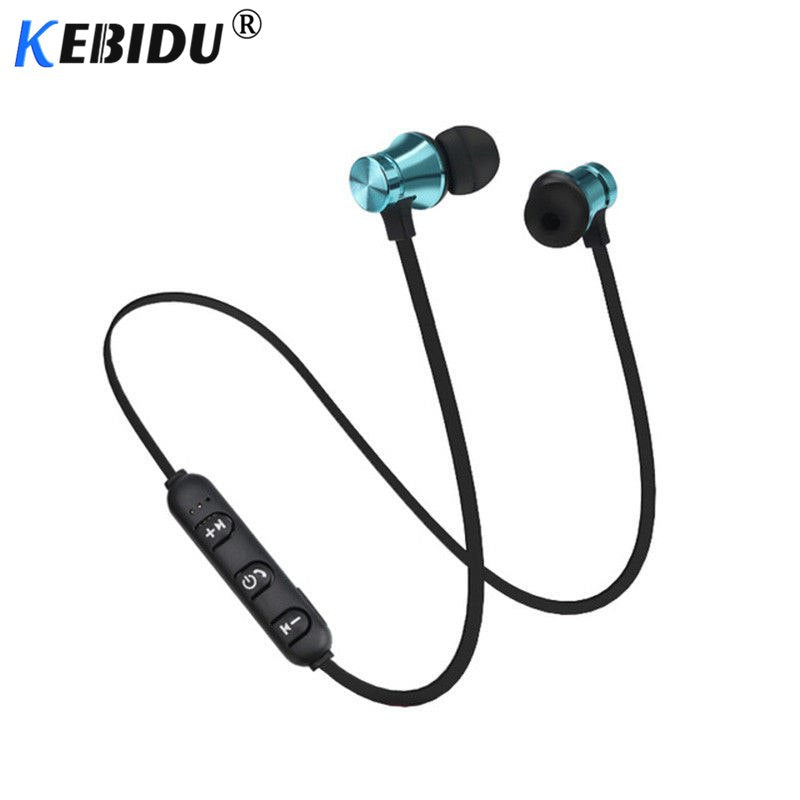 Bluetooth sports Earphone Headset waterproof 4.2 Magnetic attraction Mic For iPhone X XS Max 6 8 Samsung S8 S9 huwai p20