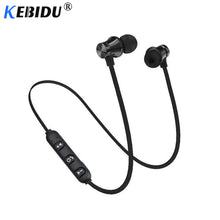Load image into Gallery viewer, Bluetooth sports Earphone Headset waterproof 4.2 Magnetic attraction Mic For iPhone X XS Max 6 8 Samsung S8 S9 huwai p20