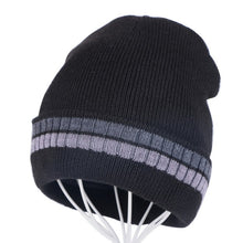 Load image into Gallery viewer, men women cheap winter beanies skullies gorros thermal warmer winter hats two layer keep warmer knitted unisex  winter hats