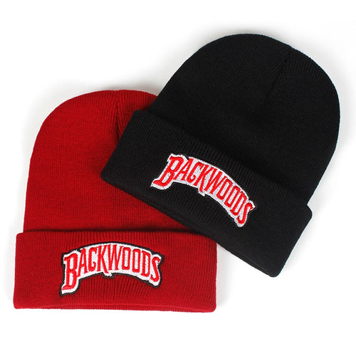 new Beanie Brand backwoods Letter Knitted winter hat Cot Men Women Fashion Knitted Winter Hat Hip-hop Skullies Hats