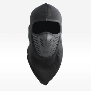 plus velvet  Skiing Wind River balaclava face mas Men Women Beanies Hat Head Ears Mouth Thermal winter hat Warm Black