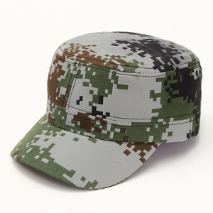 Unisex Fashionable Men Women Sun Visor Army Camouflage Baseball Cap Woman Man Snapback Soldier Combat Hat Cotton  Cap