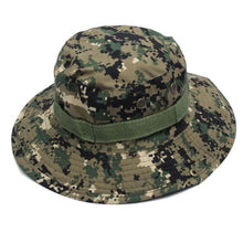 Load image into Gallery viewer, Dome  Bucket Hats Men Women Military Camo Cap Casual Bucket Camping Hiking Travel Sun Bob Fishing Hats Unisex