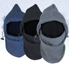 Load image into Gallery viewer, New Arrival Face Mask Thermal Fleece Balaclava Hood Swat Bike wind-proof and sand-proof Stopper Hats Caps Skullies Beanies