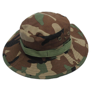 Dome  Bucket Hats Men Women Military Camo Cap Casual Bucket Camping Hiking Travel Sun Bob Fishing Hats Unisex