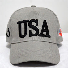 Load image into Gallery viewer, Summer fashion American Flag Embroidered Print Hat with Travel Baseball Cap Hat Strap Hip Hop Cap