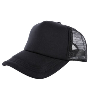 Adjustable Summer Cozy Hats for Men Women Attractive Casual Snapback Solid Baseball Cap Mesh Blank Visor Outside Hat