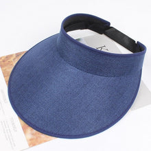 Load image into Gallery viewer, Sun Elastic Plain Unisex Fashion Adjustable Hat Solid Visor