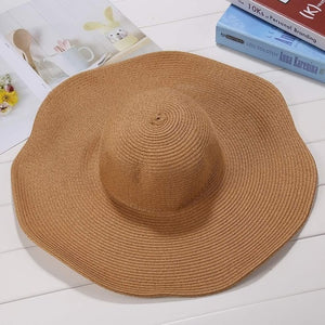 Sun Straw Fashion Weave Sun Cap Solid Women Hat Rope Hat Elastic