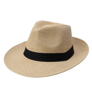Hat Jazz Beach Style Floppy Unisex Cap Sun Straw Sun Fashion