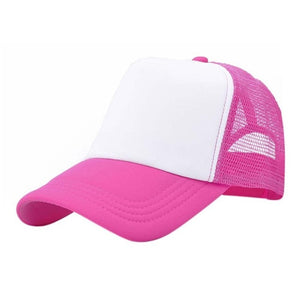 Adjustable Child Solid Casual Hats for New Classic Trucker Summer Kids Baseball Mesh Cap Sun Hats baseball cap 10 colors W1