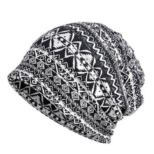 Load image into Gallery viewer, Fashion Unisex Scarf Beanies Cap Women Men Skullcap Skullies Soft Casual Hat Adjustable Breathable Beanie Hats For Ladies J1