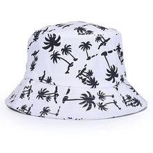 Load image into Gallery viewer, unisex panama floral print bucket hats for men women panama boonie hunting fishing outdoor cap fisherman hat bucket hat